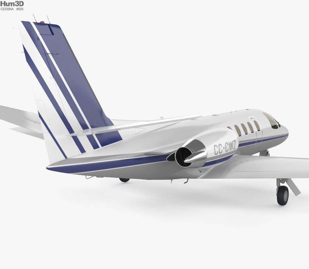 Cessna Citation II 3d model