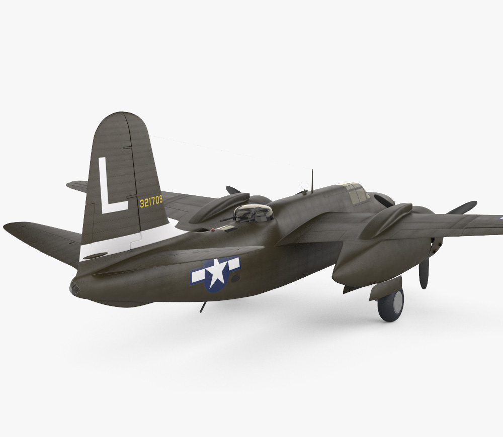 Douglas A-20 Havoc 3d model