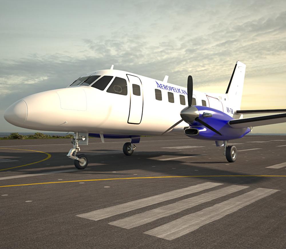 3D model of Embraer EMB 110