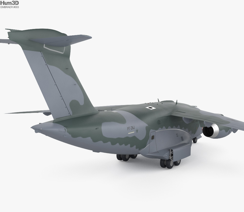 Embraer KC-390 3d model