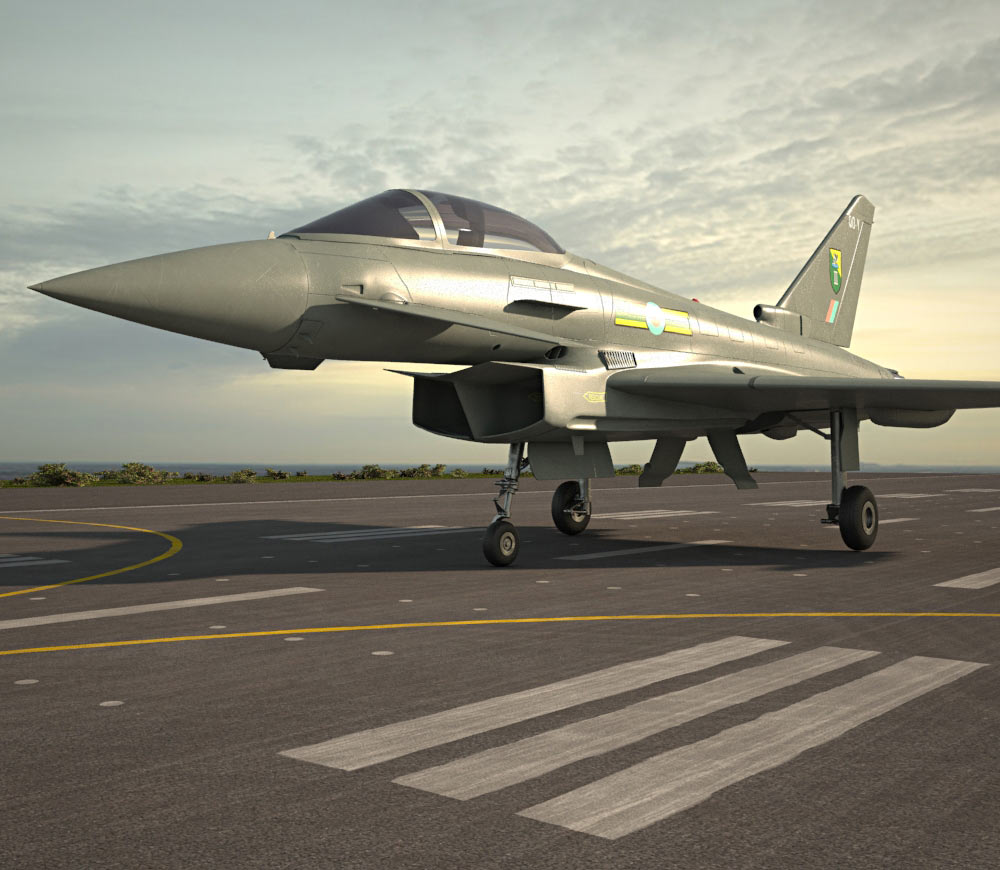 eurofighter typhoon 3d model aircraft on hum3d. Black Bedroom Furniture Sets. Home Design Ideas