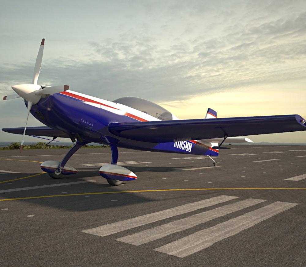 Extra 300L 3d model