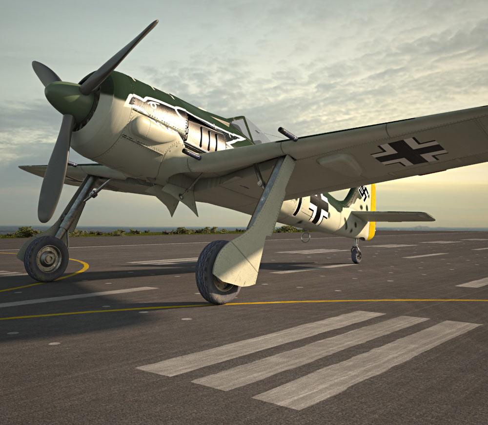 Focke-Wulf Fw 190 3d model