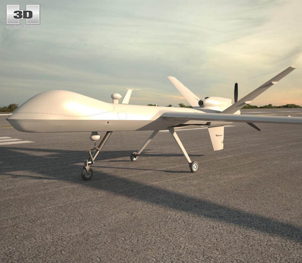 General Atomics MQ-9 Reaper 3d model