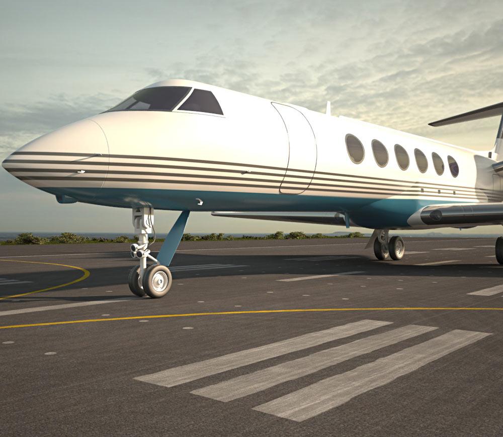 Gulfstream V 3d model
