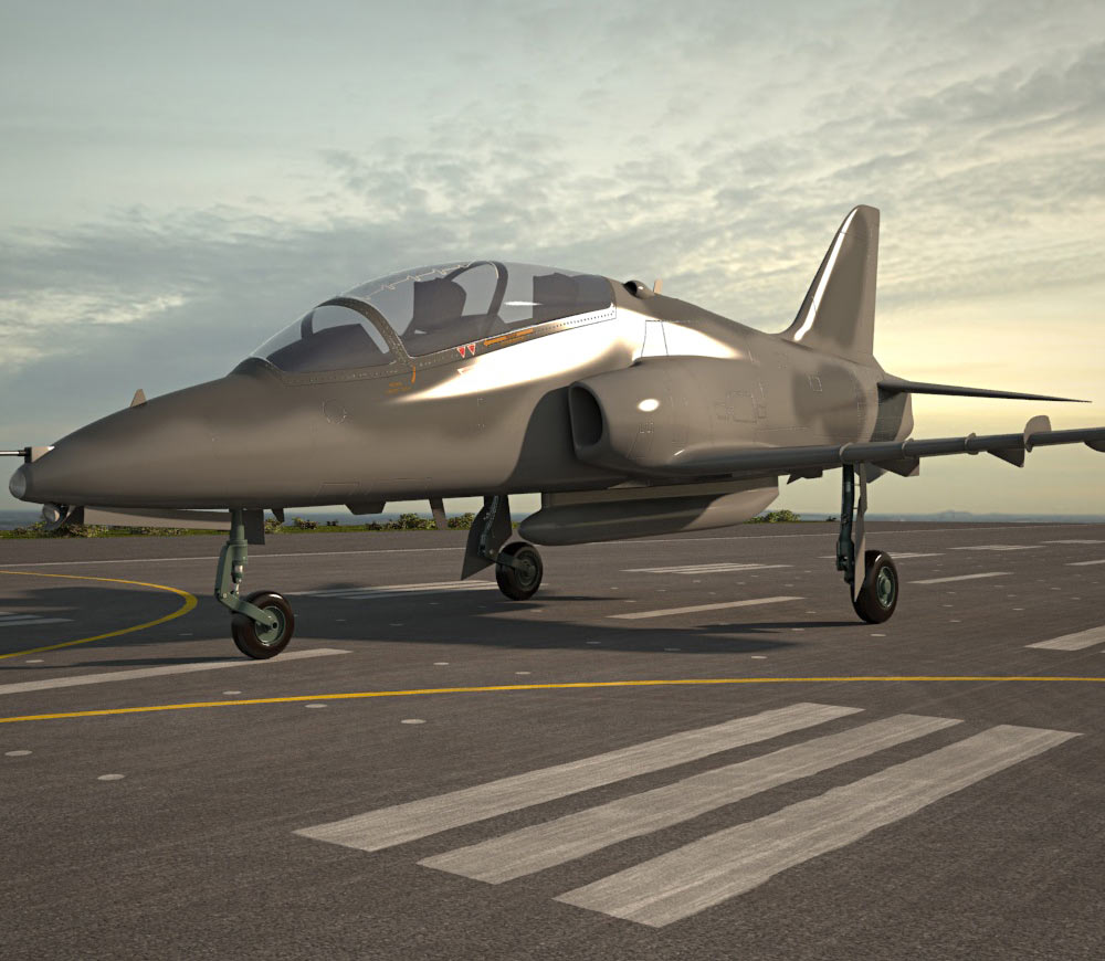 Hawker Siddeley Hawk 3d model