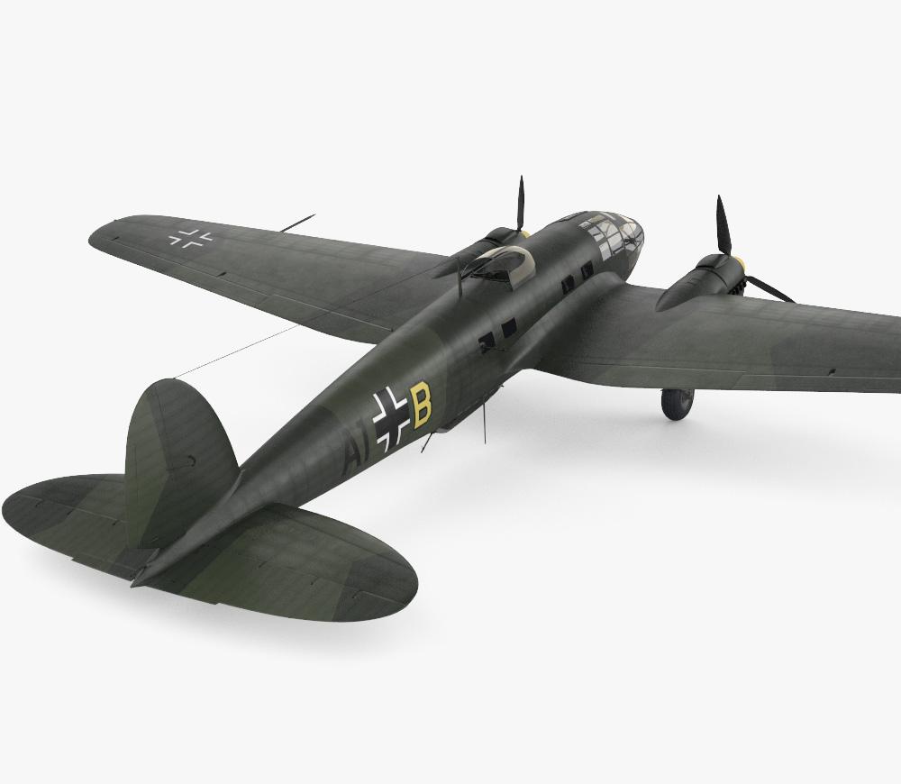 Heinkel He 111 3d model