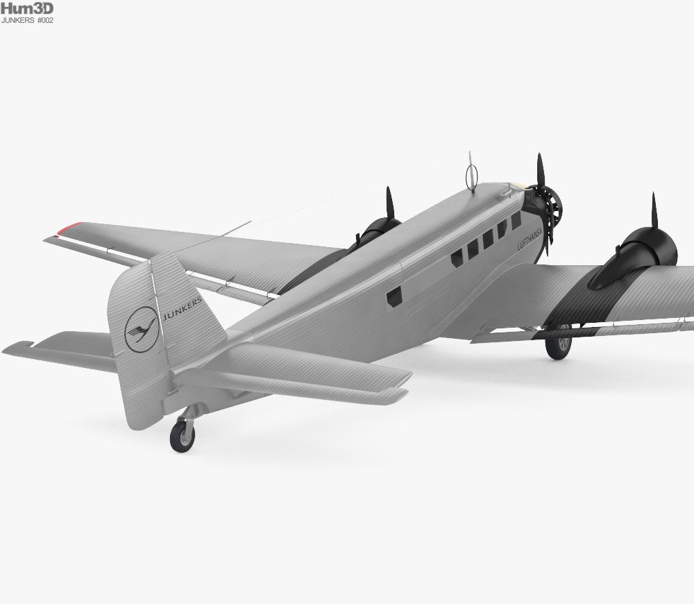 Junkers Ju 52 3d model