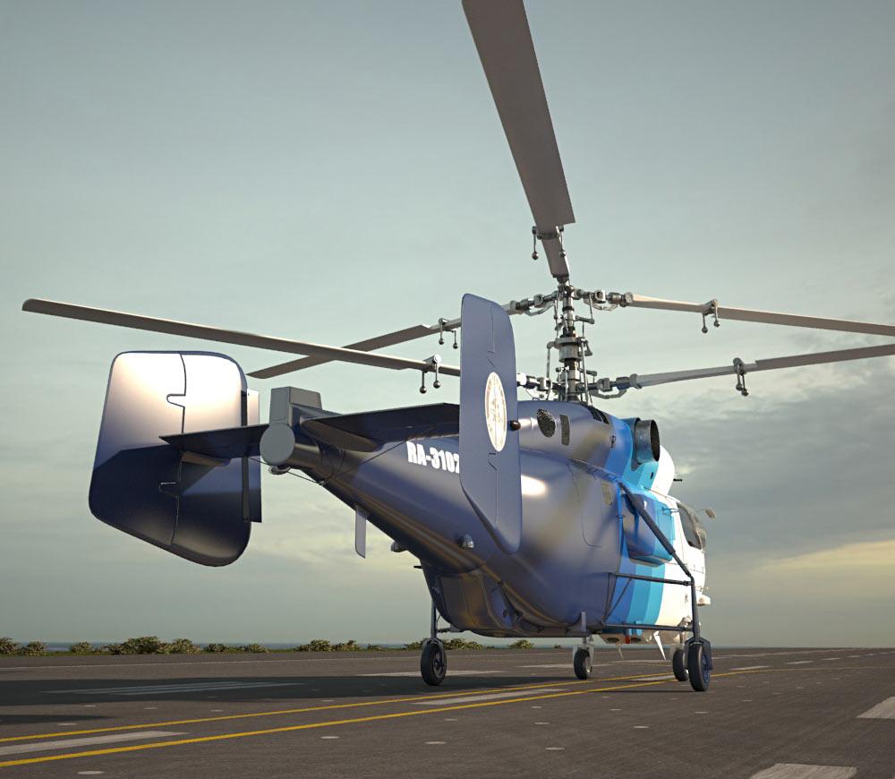 Kamov Ka-32 3d model