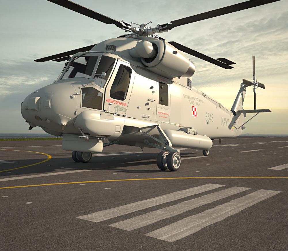 3D model of Kaman SH-2G Super Seasprite