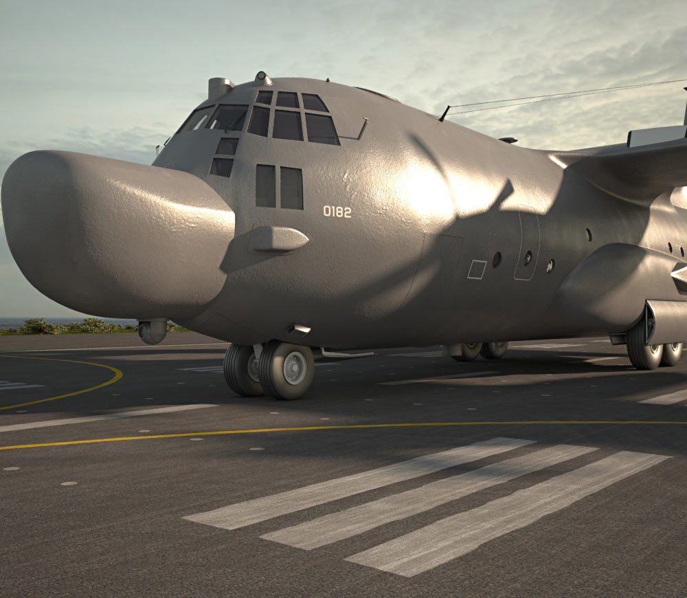 Lockheed MC-130 3d model