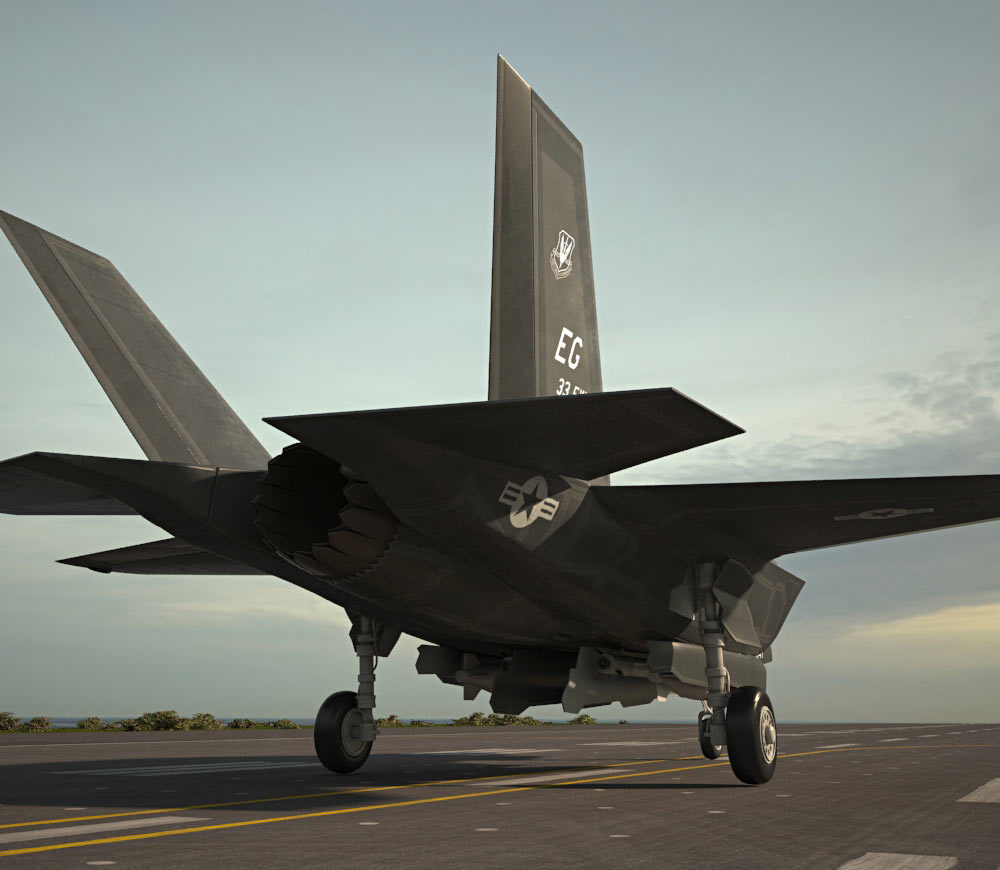 Lockheed Martin F-35 Lightning II 3d model