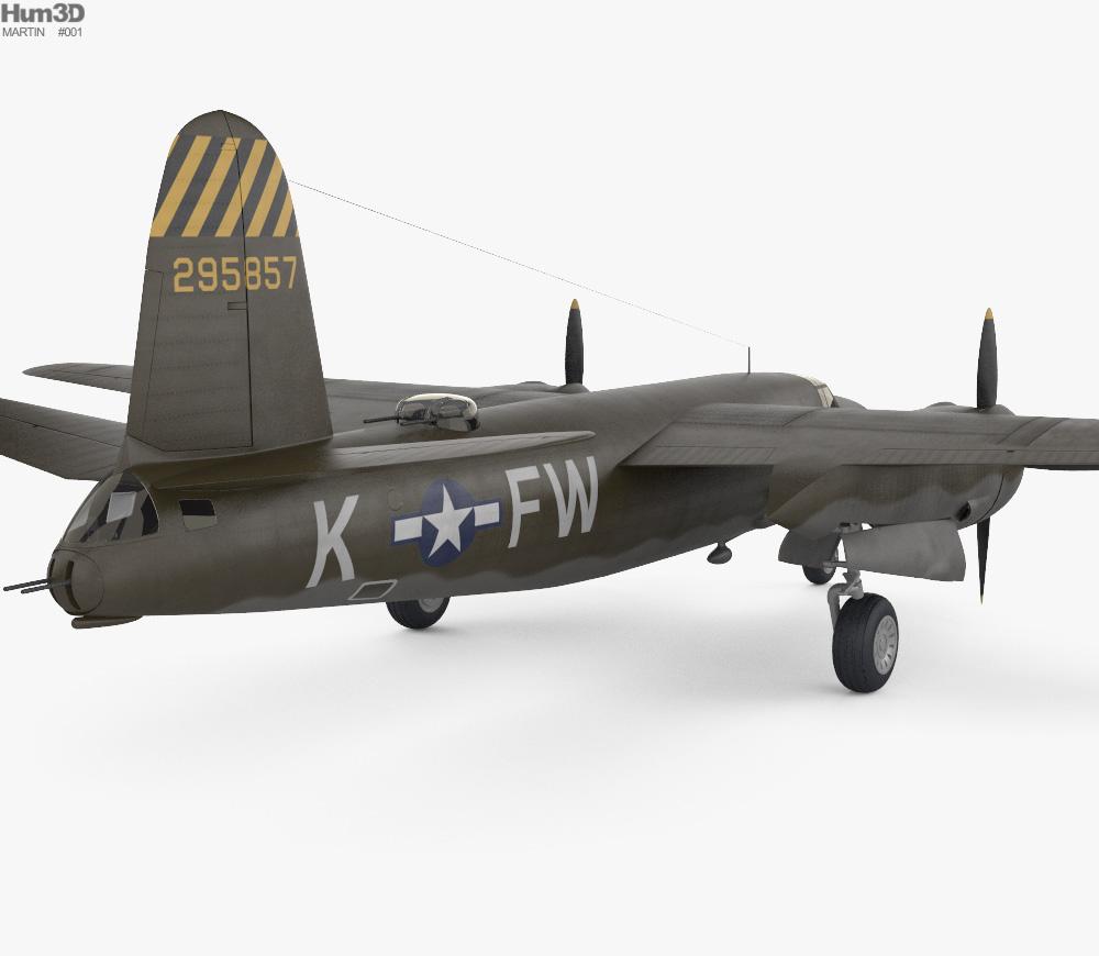 Martin B-26 Marauder 3d model