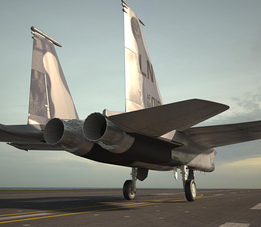 McDonnell Douglas F-15 Eagle 3d model