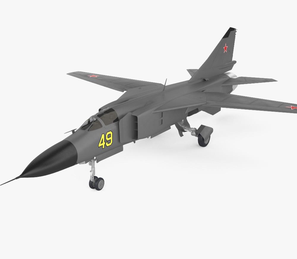 Mikoyan Gurevich MiG-23 3d model