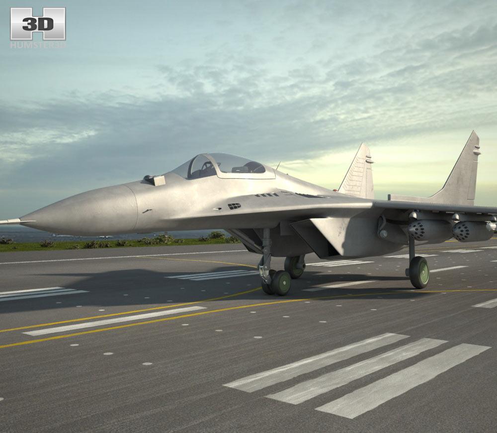 Mikoyan MiG-29 3d model