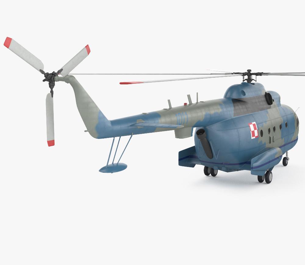 Mil Mi-14 3d model