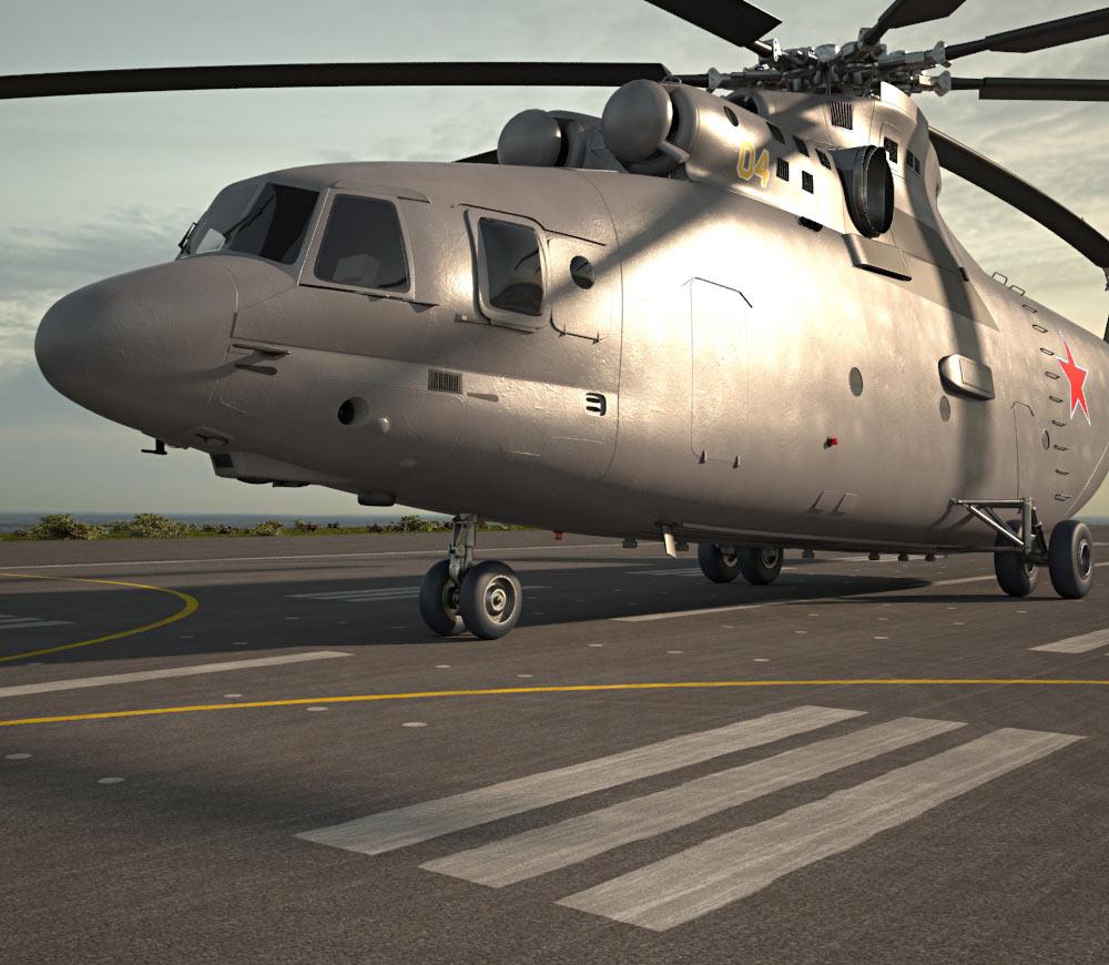 3D model of Mil Mi-26