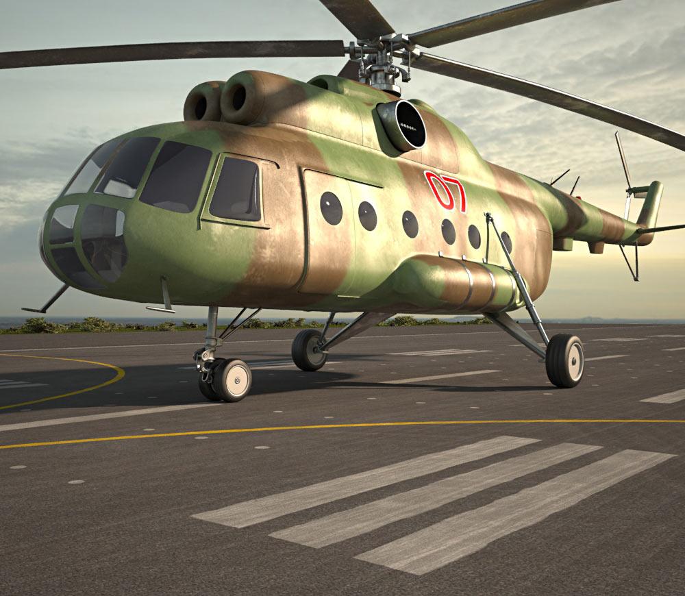 Mil Mi-8 3d model