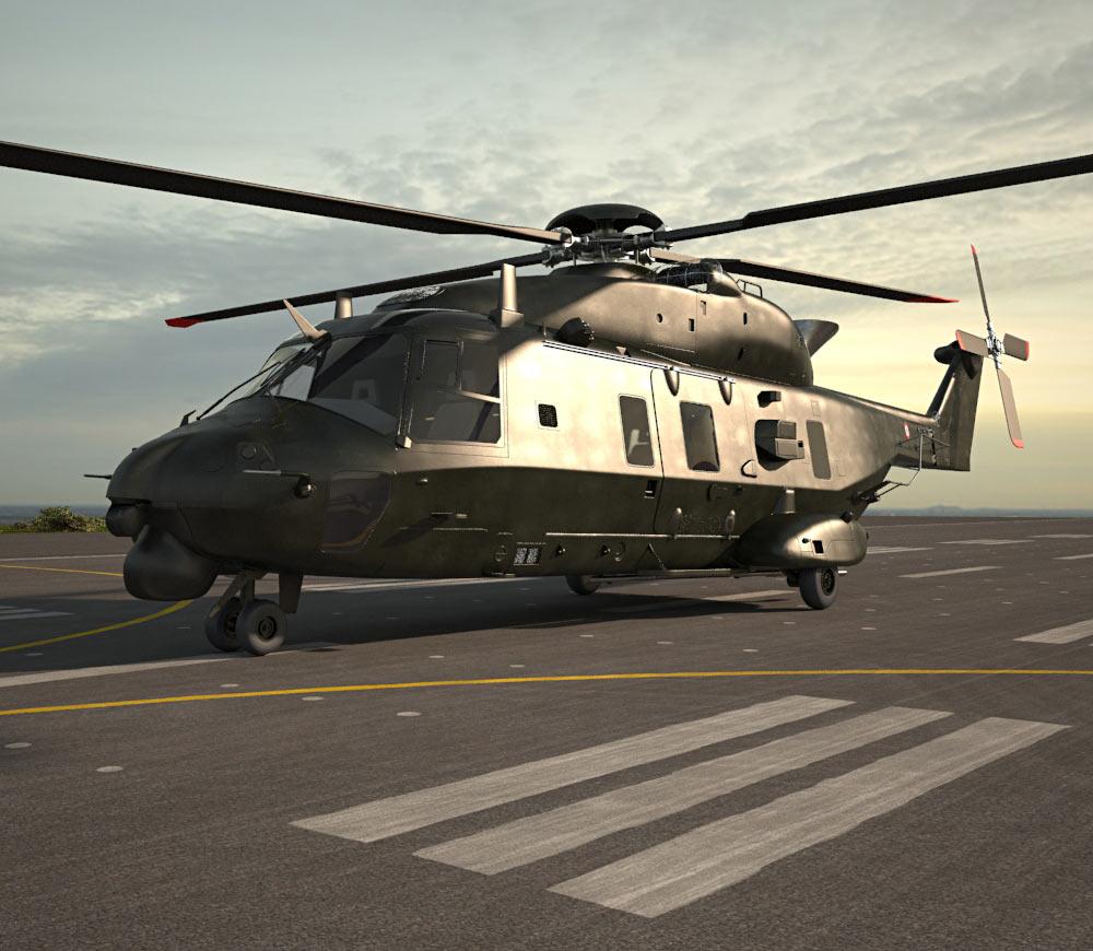 NHIndustries NH90 3d model