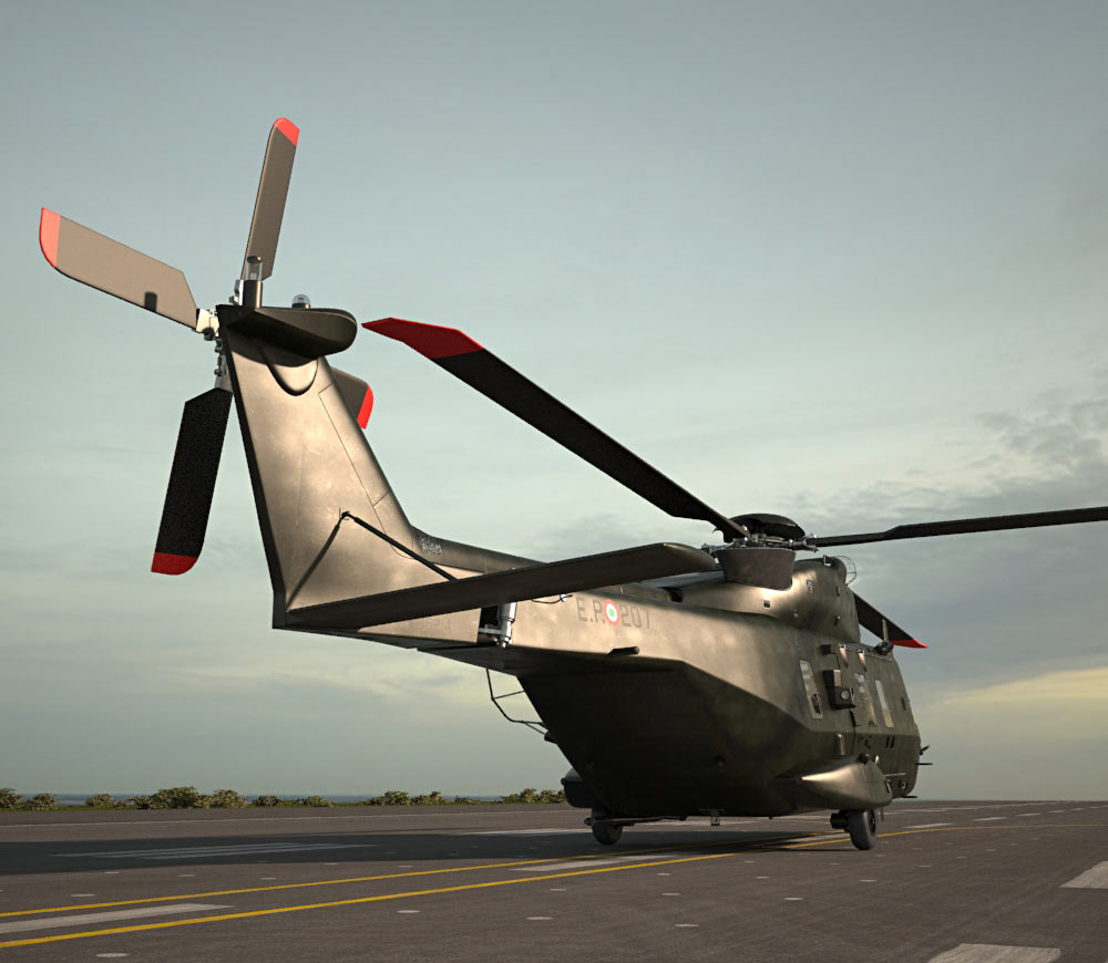NHIndustries NH90 3d model
