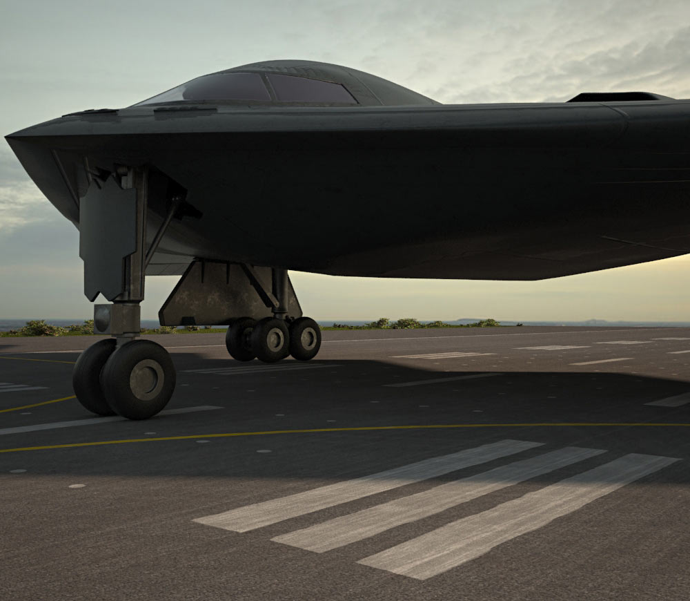 Northrop B-2 Spirit 3d model
