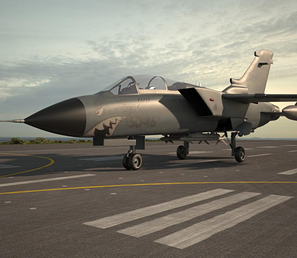 Panavia Tornado 3d model