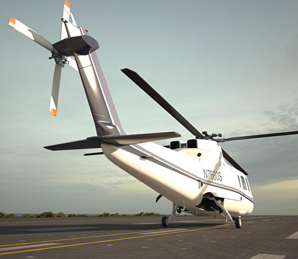 Sikorsky S-76 3d model