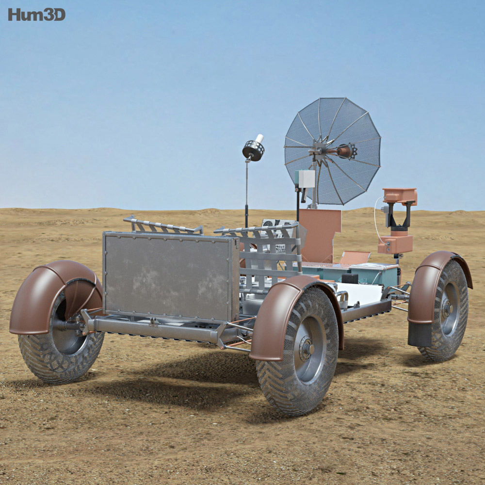 Apollo 15 Lunar Roving Vehicle 3d model