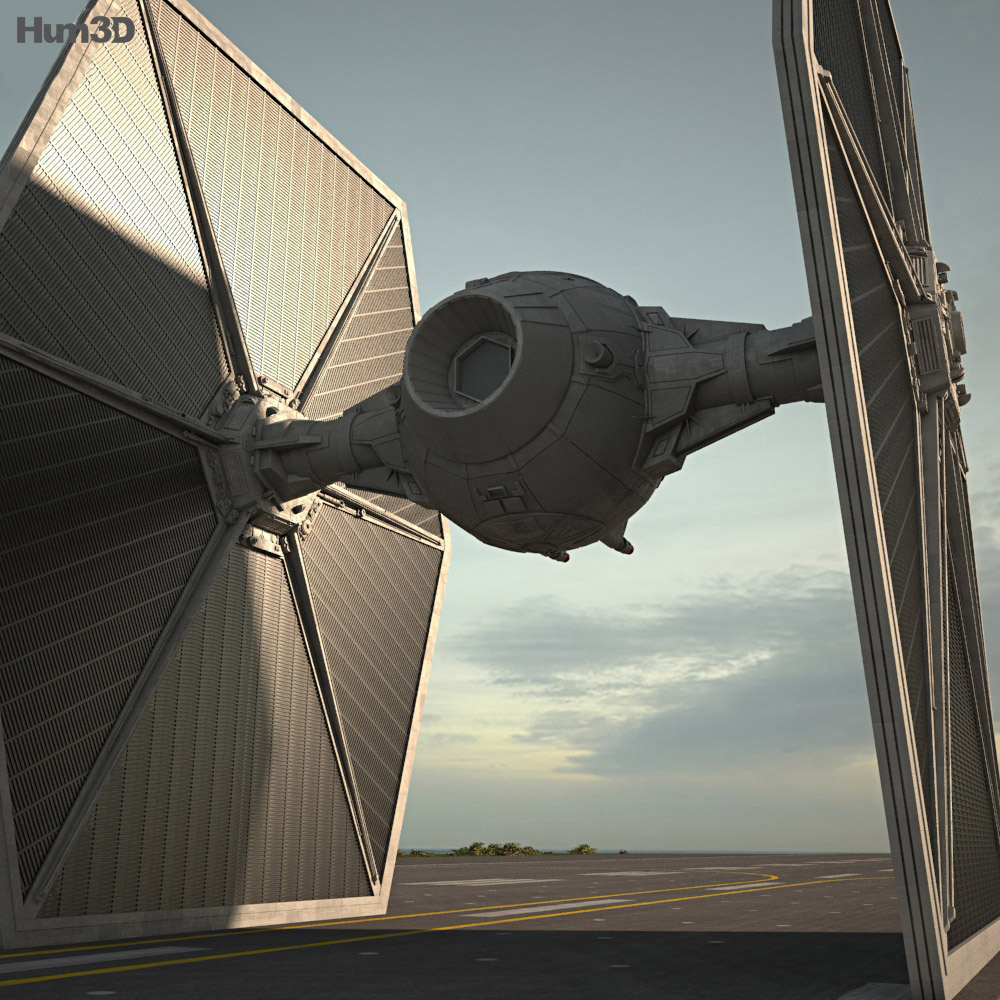 TIE Fighter 3d model