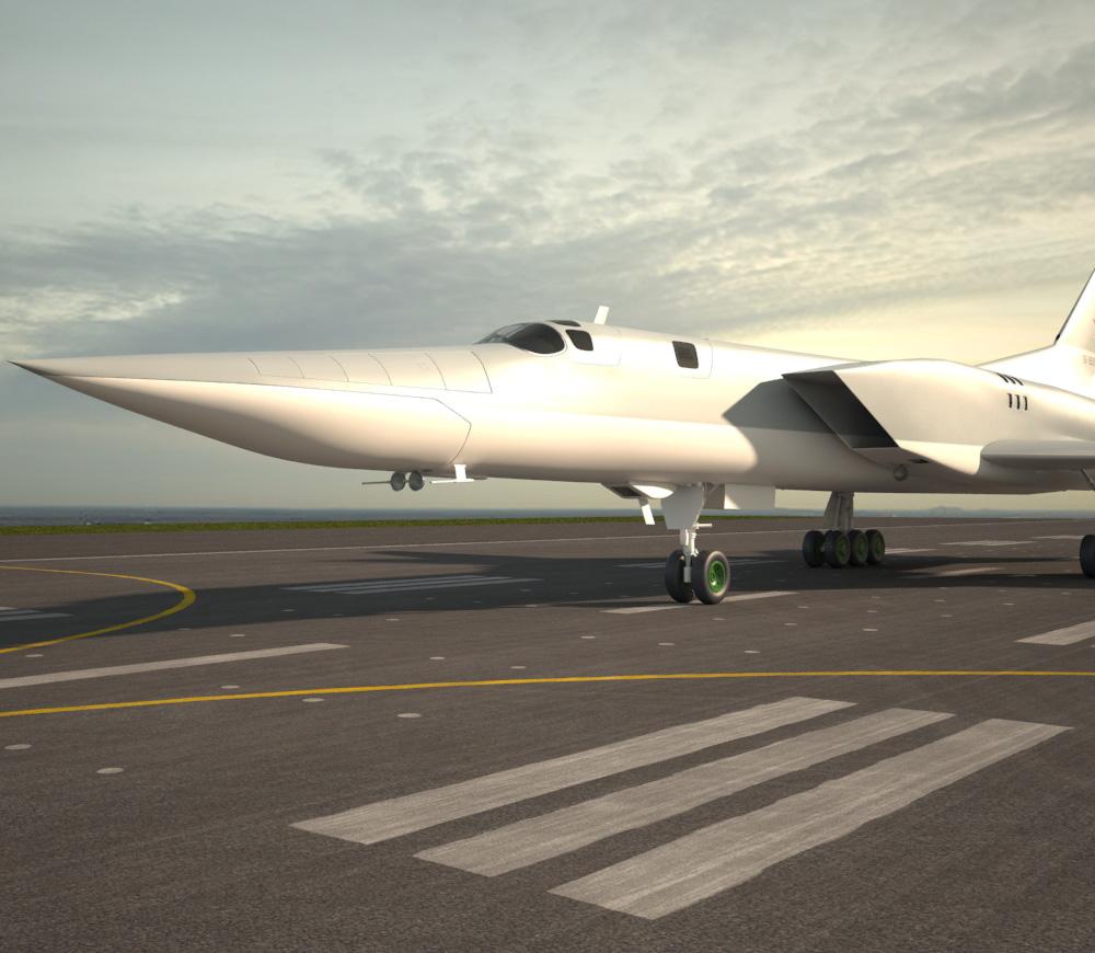 3D model of Tupolev Tu-22M