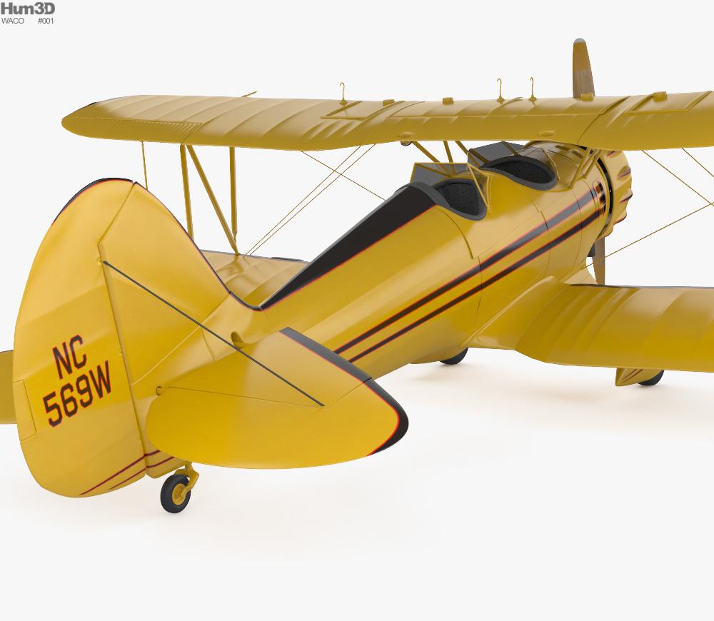 WACO Classic YMF-5C 3d model
