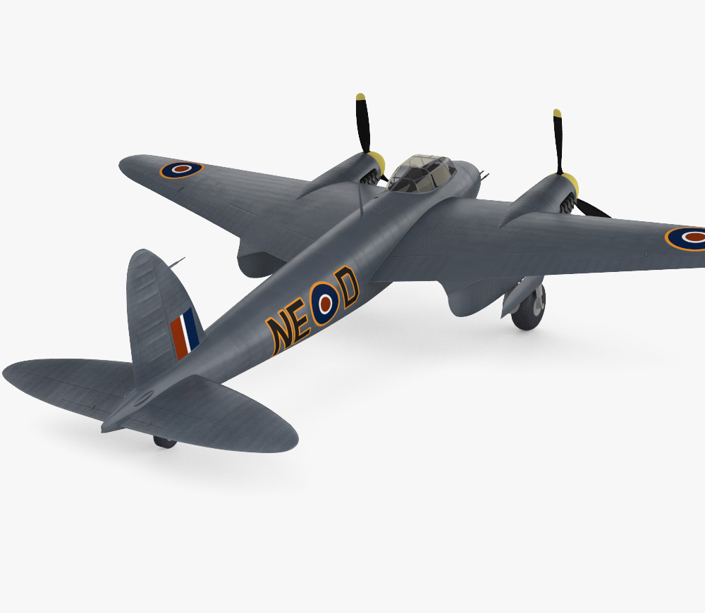 de Havilland DH.98 Mosquito FB MK VI 3d model