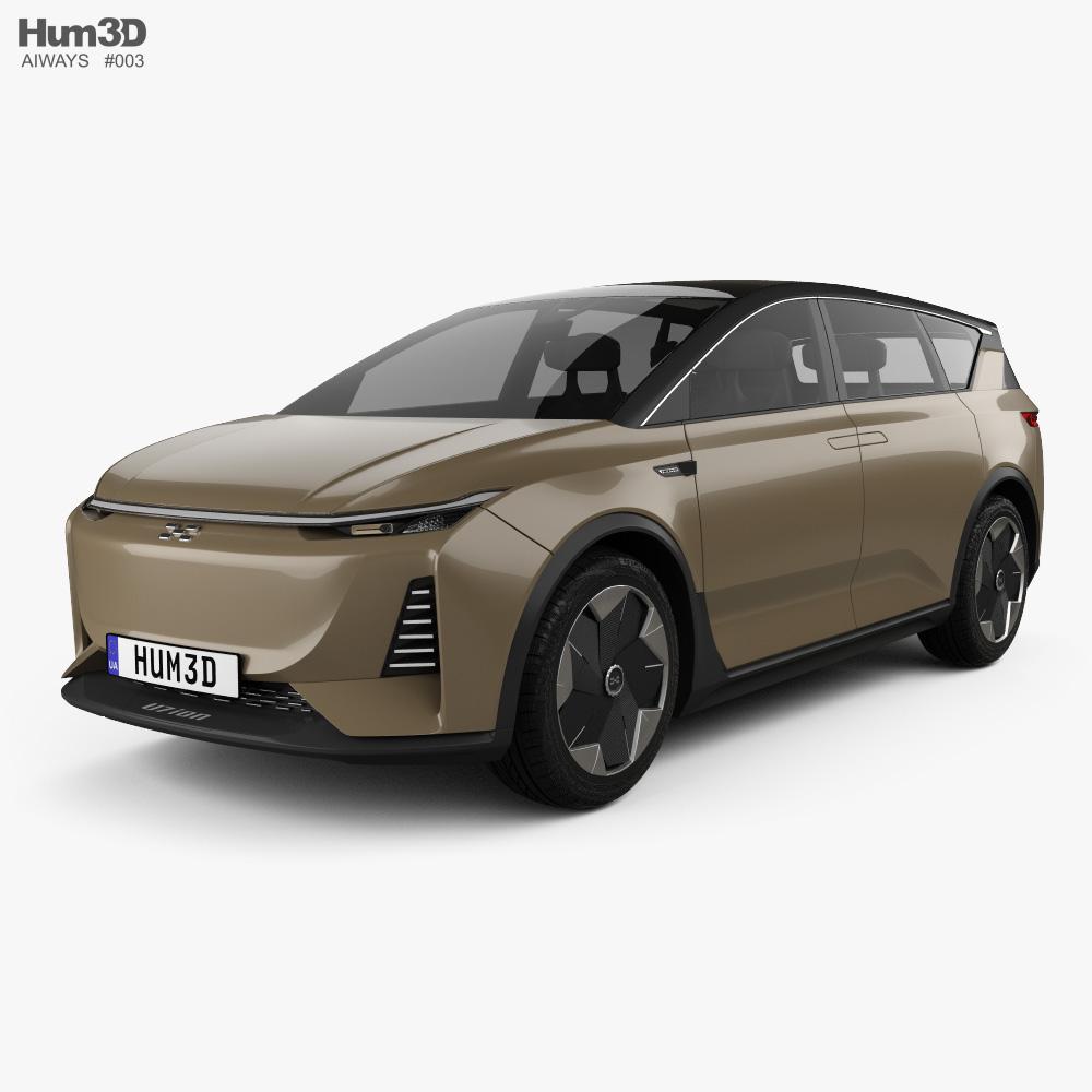 Aiways U7 ION 2019 3d model