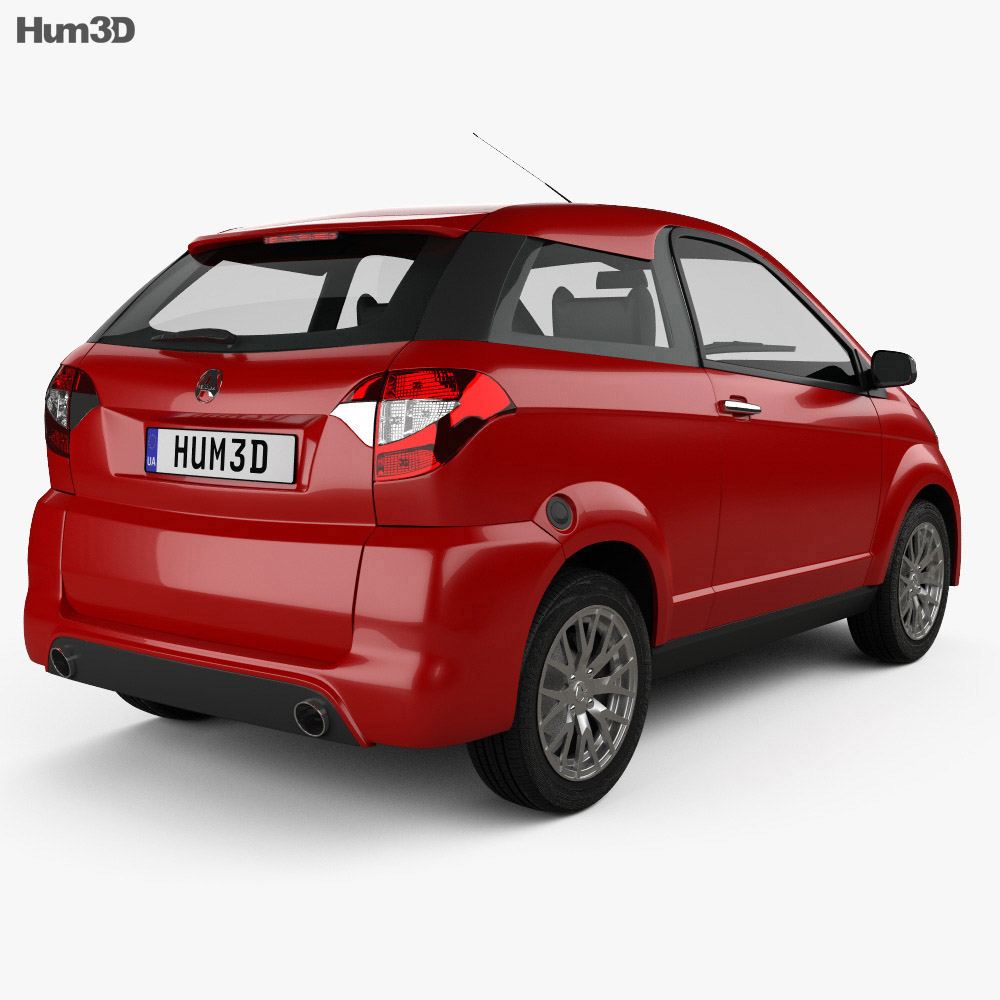 Aixam Coupe Premium 2014 3d model
