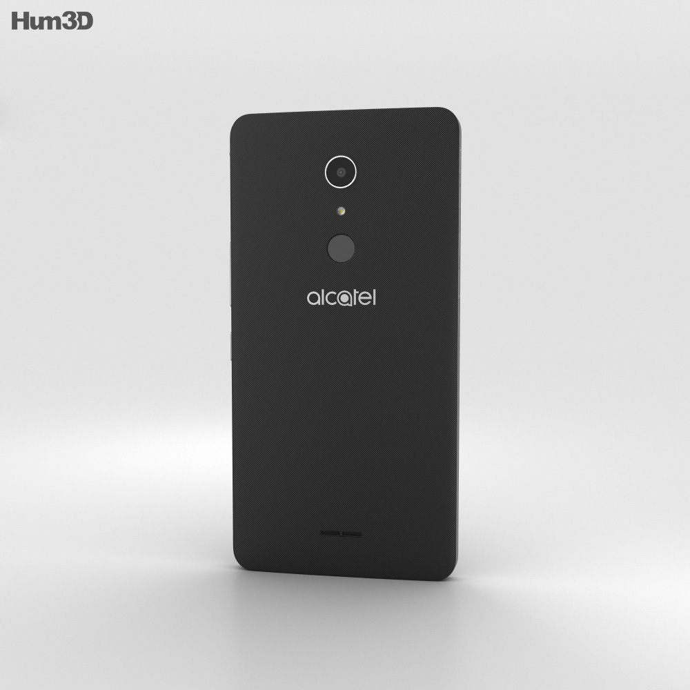 Alcatel A3 XL Black 3d model