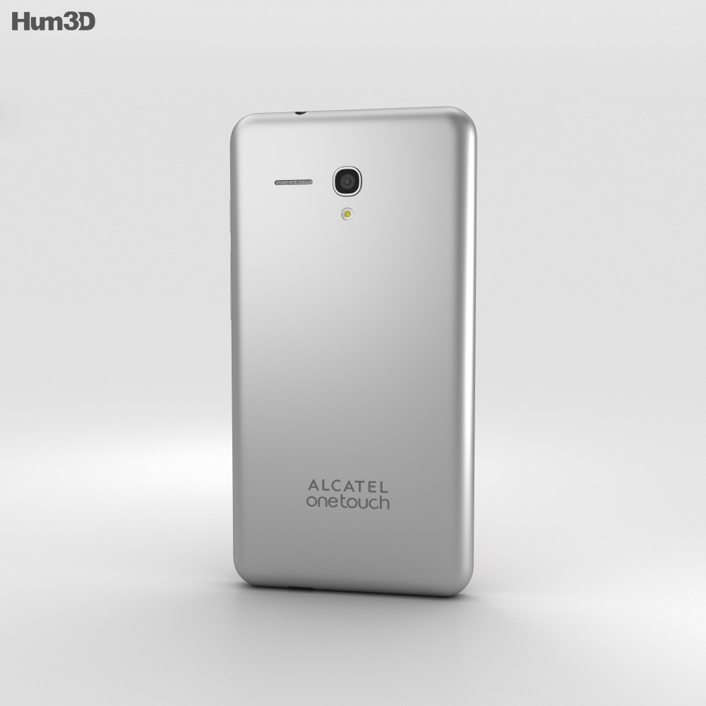 Alcatel Fierce XL White 3d model