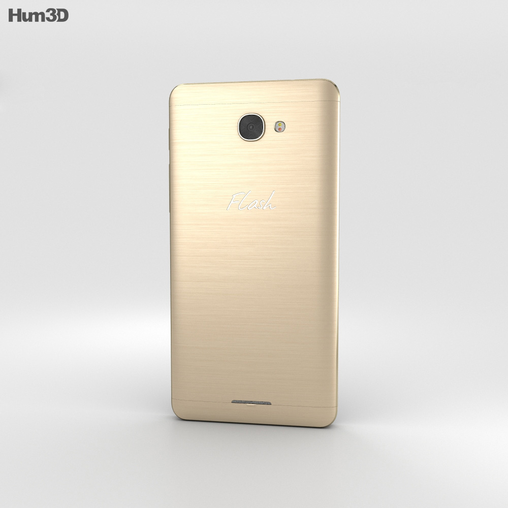 Alcatel Flash Plus 2 Venus Gold 3d model