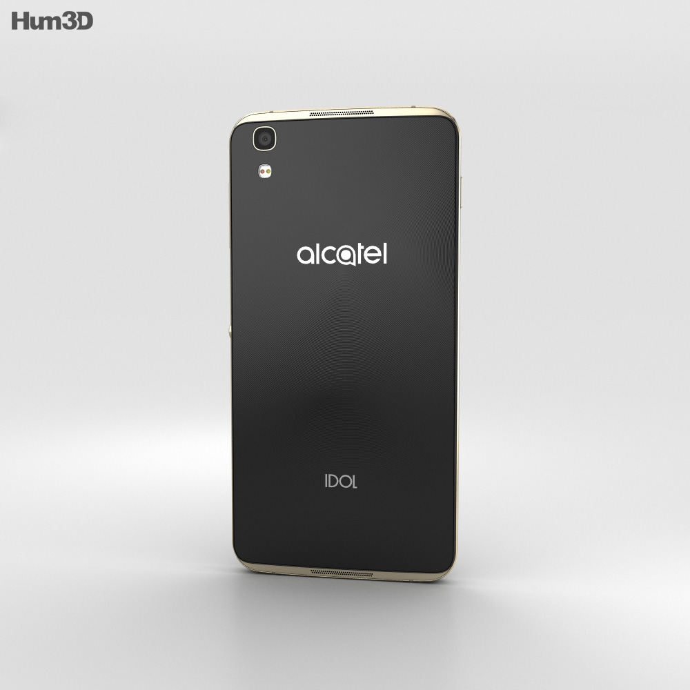 Alcatel Idol 4 Gold 3d model