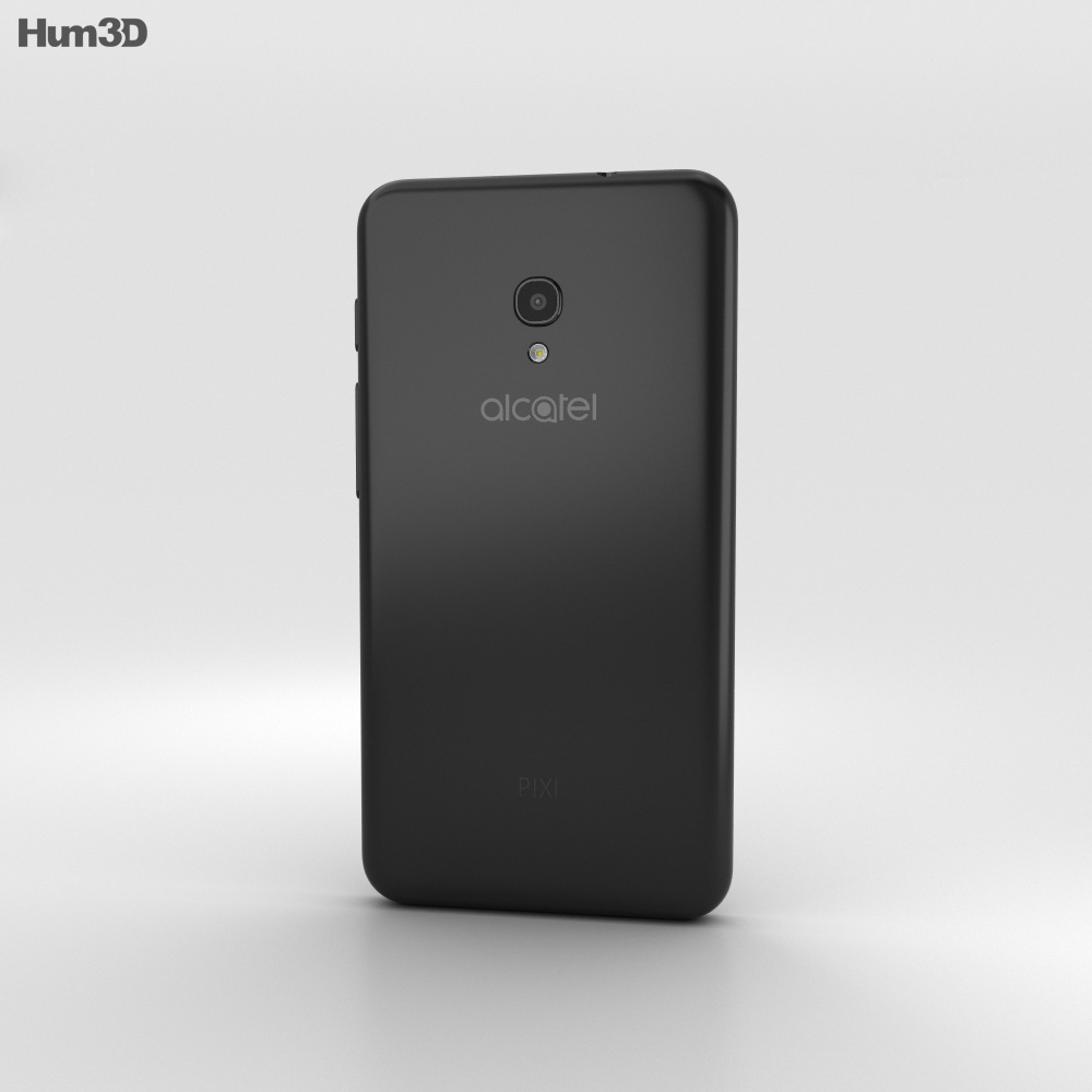 Alcatel Pixi 4 (5) Black 3d model