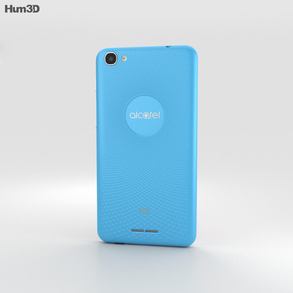 Alcatel Pixi 4 Plus Power Blue 3d model