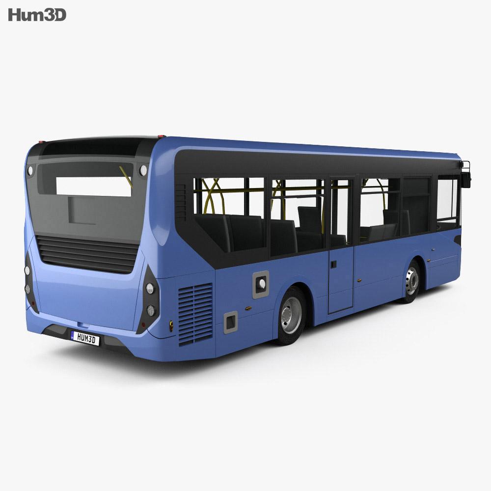 Alexander Dennis Enviro200 Bus 2016 3d model