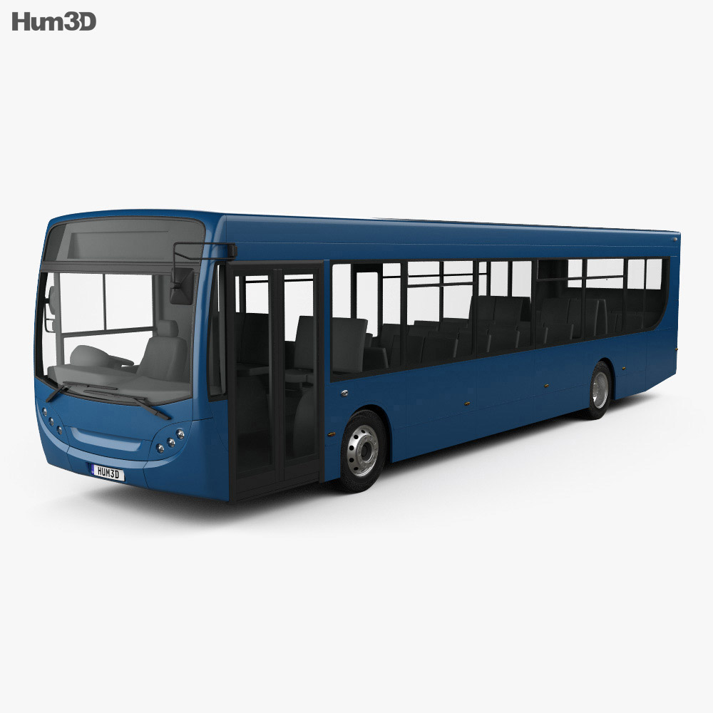Alexander Dennis Enviro300 Bus 2016 3d model