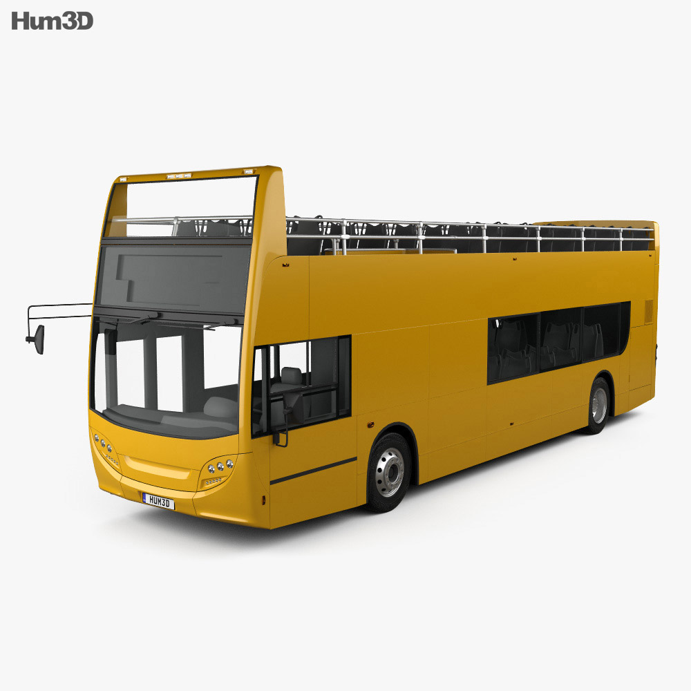 Alexander Dennis Enviro400 Open Top Bus 2015 3d model