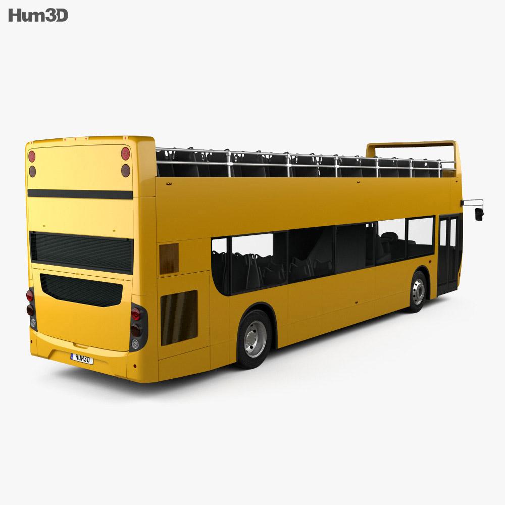 Alexander Dennis Enviro400 Open Top Bus 2015 3d model