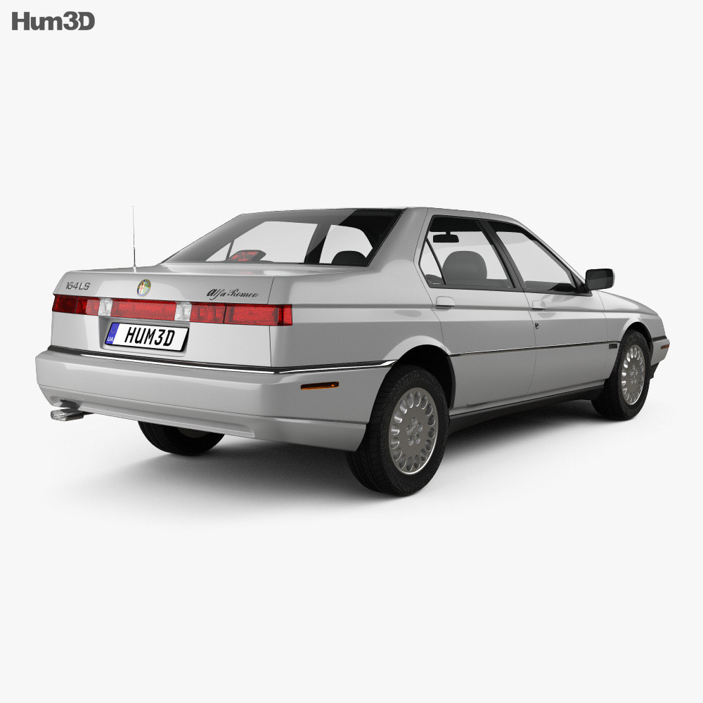 Alfa Romeo 164 LS 1994 3D Model
