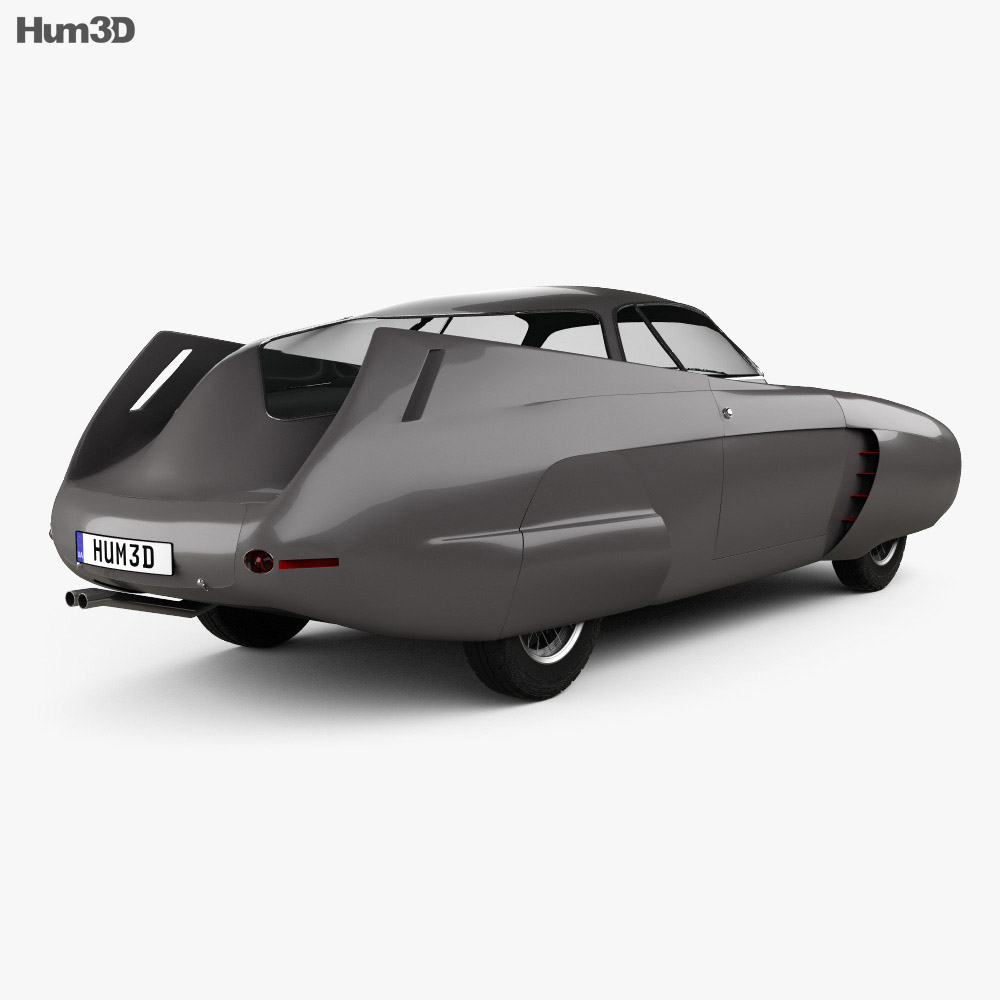Alfa Romeo BAT 5 1953 3d model