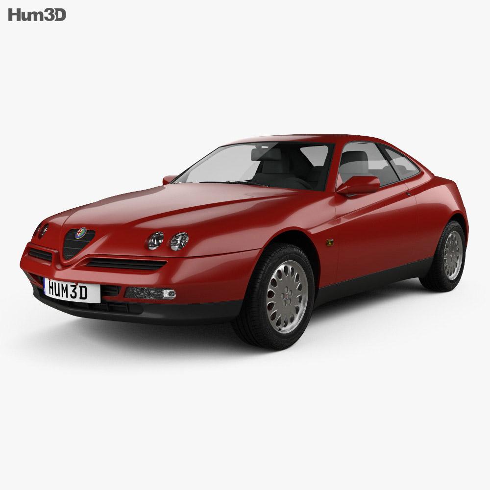 Alfa Romeo GTV 1995 3d model
