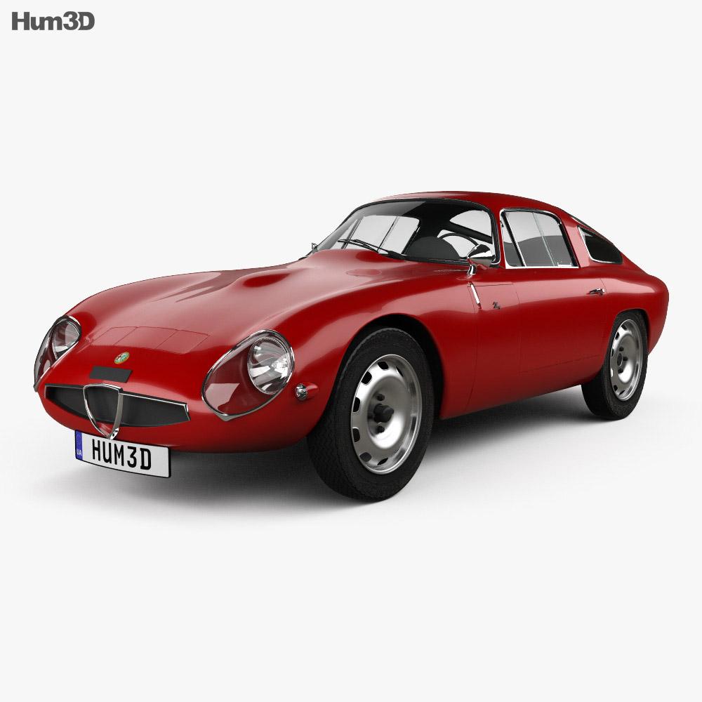 Alfa Romeo Giulia TZ (105) 1963 3d model