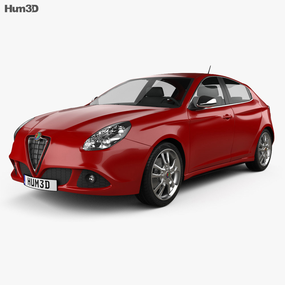 Alfa Romeo Giulietta 2011 3D model - Vehicles on Hum3D